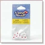 7703 - Accessories : Heart Beads - Plain